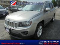 CARFAX One-Owner. Clean CARFAX. Silver 2015 Jeep