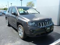 2015 Compass Jeep Sport Granite Crystal Metallic