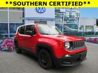 New Price! Clean CARFAX. Colorado Red 2015 Jeep