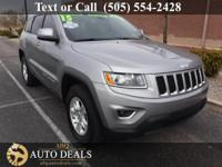 Options:  2015 Jeep Grand Cherokee Presenting Our One