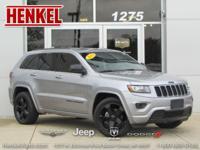 Options:  2015 Jeep Grand Cherokee Altitude 4X4|Billet