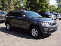 Options:  2015 Jeep Grand Cherokee Laredo|Gray|Clean