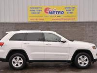 CARFAX One-Owner. White 2015 Jeep Grand Cherokee Laredo