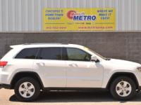 CARFAX One-Owner. Clean CARFAX. White 2015 Jeep Grand