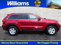 Options:  2015 Jeep Grand Cherokee|Red|4Wd. Red And
