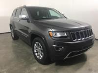 Gray 2015 Jeep Grand Cherokee Limited RWD 8-Speed