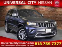Blue 2015 Jeep Grand Cherokee Limited 4D Sport Utility