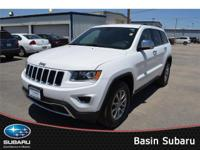 Our amazing 2015 Jeep Grand Cherokee Limited Rear Wheel