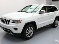 This awesome 2015 Jeep Grand Cherokee comes loaded with