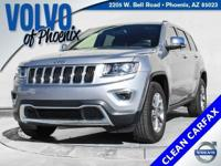 2015 Jeep Grand Cherokee Limited Billet Silver Metallic