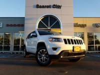 CARFAX One-Owner. White 2015 Jeep Grand Cherokee