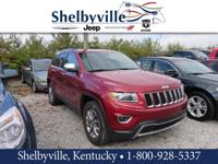 CARFAX One-Owner. Clean CARFAX. Red 2015 Jeep Grand