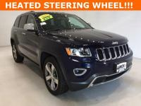 Options:  2015 Jeep Grand Cherokee Limited|Blue|****