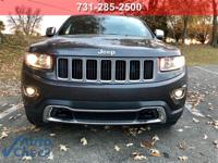 Gray 2015 Jeep Grand Cherokee Limited 4WD 8-Speed