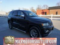 Recent Arrival! 2015 Jeep Grand Cherokee Limited