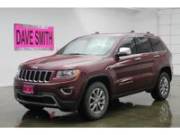 2015 Jeep Grand Cherokee Limited 3.6 Liter Automatic