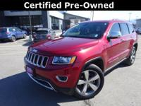 Options:  2015 Jeep Grand Cherokee Limited|Red|Recent