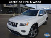 Options:  2015 Jeep Grand Cherokee Limited|White|Carfax