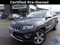 Options:  2015 Jeep Grand Cherokee Limited|Gray|Carfax