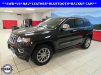 LEATHER, NAVIGATION, Grand Cherokee Limited, 4D Sport