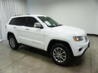 2015 Jeep Grand Cherokee Bright White Clearcoat Limited