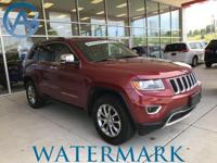 Grand Cherokee Limited, 3.6L V6, 4WD, Navigation, Nav,