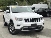2015 Jeep Grand Cherokee Limited Bright White Clearcoat