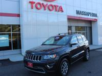 Gy 2015 Jeep Grand Cherokee Limited 4WD 8-Speed