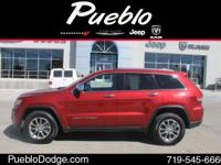 CARFAX 1 OWNER. Grand Cherokee Limited, 4D Sport
