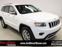 2015 Jeep Grand Cherokee Limited in Bright White