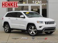 Options:  2015 Jeep Grand Cherokee Limited 4X4|Bright