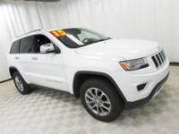 2015 Jeep Grand Cherokee Limited White Recent Arrival!