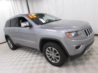 2015 Jeep Grand Cherokee Limited Silver Recent Arrival!