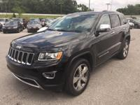 Recent Arrival! 2015 Jeep Grand Cherokee Limited 3.6L