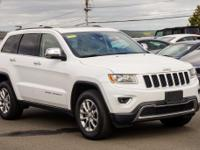 New Price! CARFAX One-Owner. White 2015 Jeep Grand