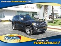 LUXURY GRAND CHEROKEE IN BRILLIANT BLACK PAINTvery nice