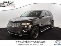 2015 Jeep Grand Cherokee Overland  * CARFAX 1-OWNER *