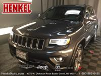 Options:  2015 Jeep Grand Cherokee Overland 4X4|Granite