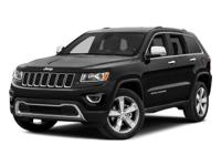 Contact us for additional savings!This 2015 Jeep Grand