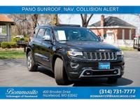1 owner no accidents. Black 2015 Jeep Grand Cherokee