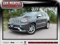 Options:  2015 Jeep Grand Cherokee Summit|Gray/|V6 3.0