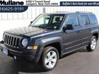 Take command of the road in the 2015 Jeep Patriot! This