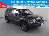 2015 Jeep Patriot High Altitude 4WD Certified. This