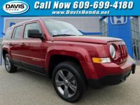 Deep Cherry Red Crystal 2015 Jeep Patriot High Altitude