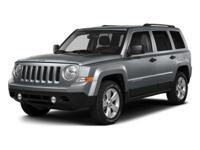 Come see this 2015 Jeep Patriot Altitude Edition. Its