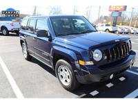 The 2015 Jeep Patriot seats five on standard cloth