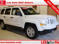 2015 Jeep Patriot Sport White Bluetooth, Hands free