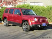 2015 Patriot 4x4 High Altitude Edition in deep cherry