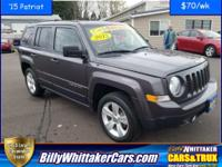 Lets talk about a very nice SUV. This 2015 Jeep Patriot