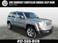 Recent Arrival! 2015 Jeep Patriot Certified. CARFAX